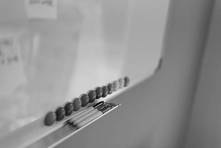 Canva - Pens Beside Dry-erase Board-min