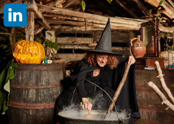 LinkedIn Sales Navigator Witch