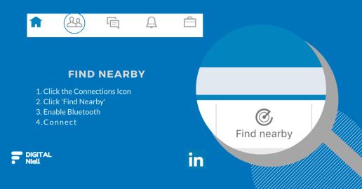 LinkedIn Find Nearby
