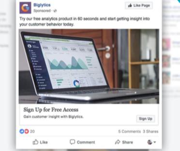Facebook Ad HubSpot