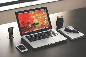 laptop and phone digital marketing